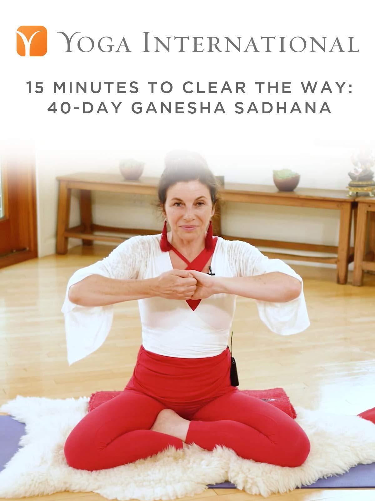 15 Minutes to Clear the Way: 40-Day Ganesha Sadhana