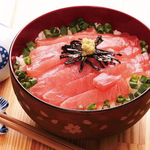 寿司の王様マグロ!まぐろ丼【簡単解凍】