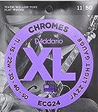 D'Addario ECG24×3SET フラットワウンド ギター弦