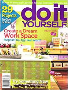 Do It Yourself Winter 2010 Better Homes And Gardens