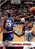 Michael Jordan MJ (5) Basketball Cards - Chicago Bulls Assorted NBA Trading Cards - MVP # 23