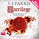 Sacrilege Audiobook by S. J. Parris Narrated by Laurence Kennedy