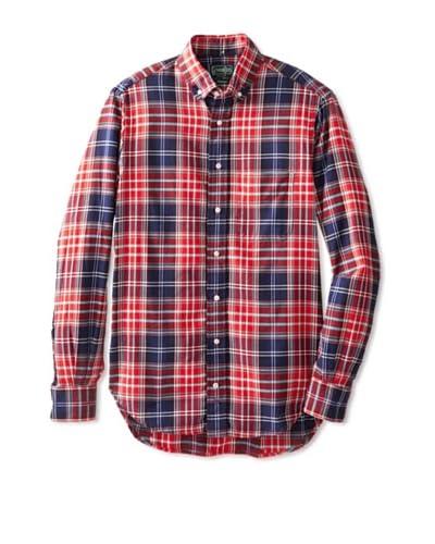 Gitman Vintage Men's Plaid Long Sleeve Shirt
