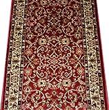 Amazoncom Dean Regal Red Carpet Rug Hallway Stair Runner