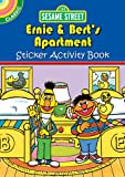 Sesame Street Classic Ernie & Bert's Apartment Sticker Activity Book