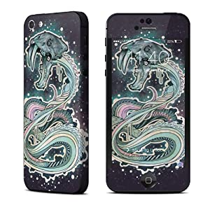 Saber-Toothed Serpent Design Protective Decal Skin Sticker (High Gloss Coating) for Apple iPhone 5 16GB 32GB 64GB Cell Phone