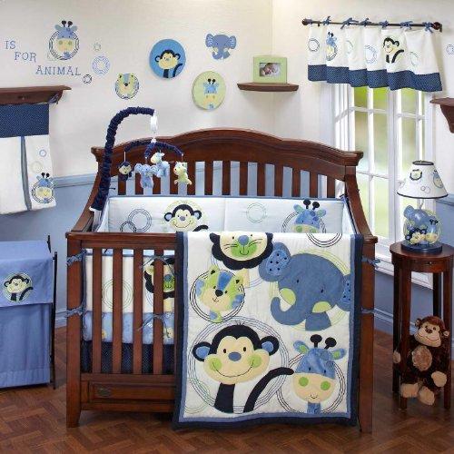 animal park crib bedding set safari bedding