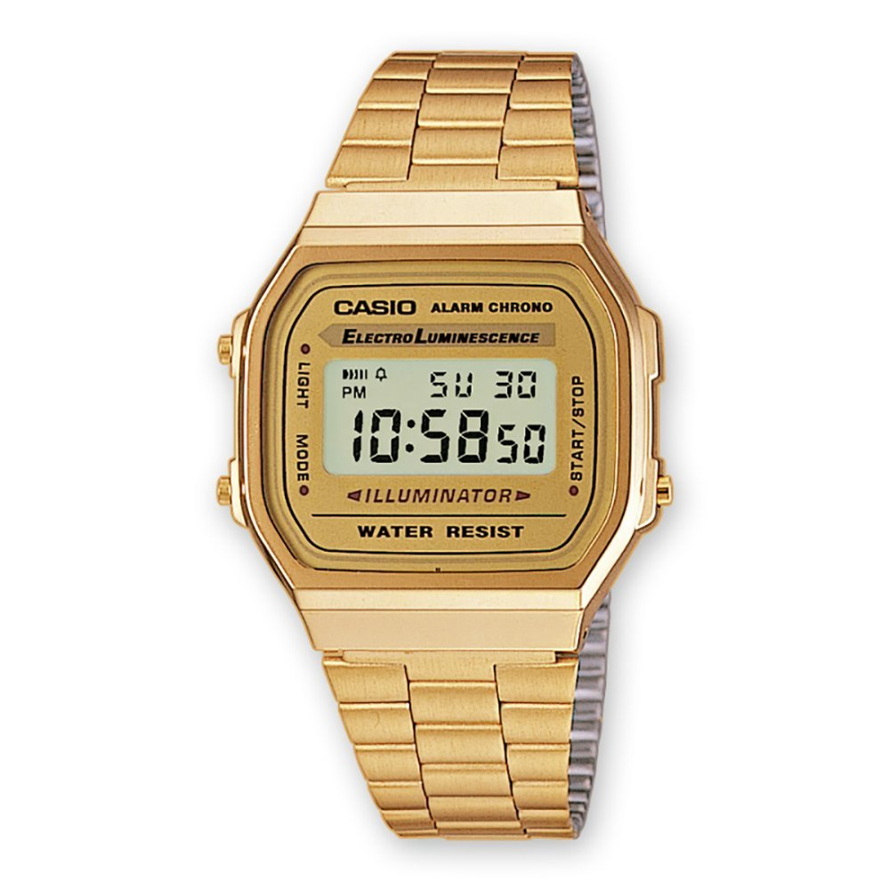 Casio Classic Digital Watch, Color: Gold, Size: One Size 0