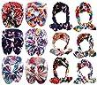 Qandsweet Baby Girl\'s Beautiful Headbands (12Pcs Hairband Flower Design)