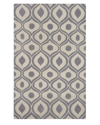 Momeni Bliss Rug, Grey, 8' x 10'