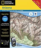National Geographic TOPO! Arizona Map CD-ROM (Mac)