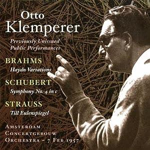 Brahms: Haydn-Variationen/Schubert: Sinfonie Nr.4/Strauss: Till Eulenspiegel
