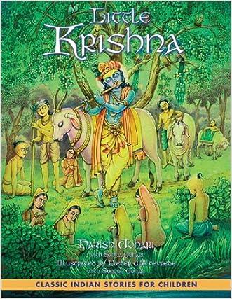 Little Krishna written by Harish Johari