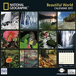 National Geographic Beautiful World Wandkalender 2011 für 13,95 € zzgl. VSK