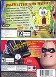 The SpongeBob Squarepants Movie Game & Disney Pixar The Incredibles Game Bundle for PC/MAC