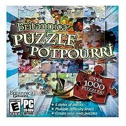 Encyclopedia Britannica Puzzle Potpourri (CD)
