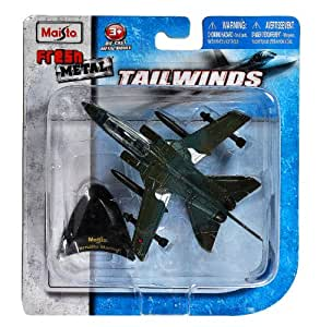 """Amazon.com: Maisto Fresh Metal Tailwinds 1:132 Scale Die Cast Military Aircraft - """"Twin Engine"""