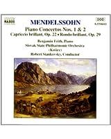 Concertos pour piano nos 1 & 2 / Capriccio brillant op.22 / Rondo brillant op.29