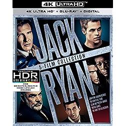 Jack Ryan 5-Film Collection [4K Ultra HD + Blu-ray]