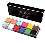 CCBeauty Professional Face Body Paint Oil 12Colors Painting Art Party Fancy Make Up Set,#1 (Color: #1, Tamaño: One Size)