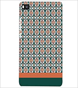 HUAWEI P8 PATTERN Designer Back Cover Case By PRINTSWAG