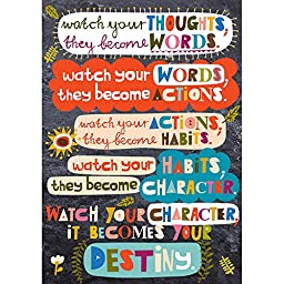 Scholastic Classroom Resources Watch Your Thoughts POP Chart (0545653878)