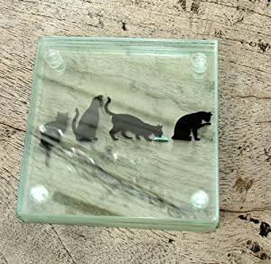Story Coasters - Cats, Great Unusual Gift