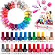 24 x NAIL POLISH VARNISH (SET A) 24 DIFFERENT COLOURS WHOLESALE THE BEST GIFT UK