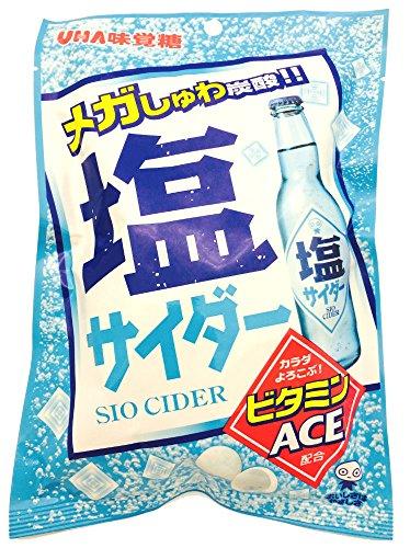 味覚糖 塩サイダー 72g×6袋