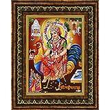 Avercart Goddess Bahuchar Maa / Bahucharaji Poster 5x7 Inch With Photo Frame (13x18 Cm Framed)