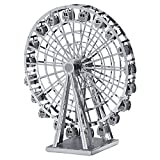 3D Assembly Metal Model Kits DIY Building Toy Puzzle For Kids Christmas Birthday Gift - Ferris Wheel