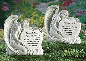 Special Parent Angel Memorial Stone Dad Patio Lawn Garden