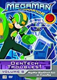 MegaMan NT Warrior, Vol. 8: Dentech Troubles! - Megaman Woodshield Style vs. Freezeman