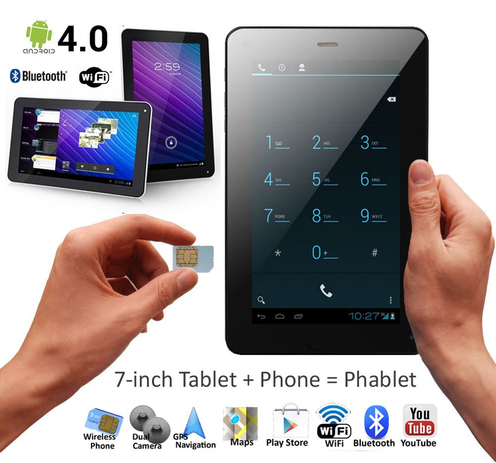 Phone 7 Android Phone 7 inch phablet smart phone tablet pc android 4 0 bluetooth gps wifi unlocked buy androi