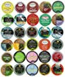 30-count TEA Single Serve Cups for Keurig K Cup Brewers Variety Pack Sampler by Crazy Cups
