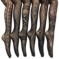 Frenchic Fishnet Lace Stocking Tights…
