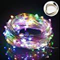 USB String Lights, OFTEN® 33ft/10M 100LEDs Copper Wire Starry LED String Lights Silver for Christmas Wedding Party Club Home Indoor Outdoor Decorating