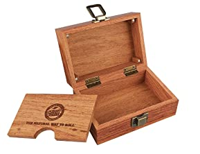 Raw® Wood Rolling Box