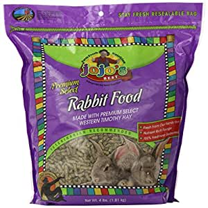 Standlee Hay Company Premium Rabbit Food Bag, 4-Pound