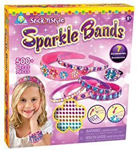 The Orb Factory Stick'n Style Sparkle Bands