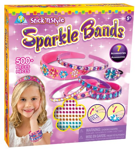 The Orb Factory Stick'n Style Sparkle Bands - 1
