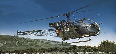 Heller - 80479 - Construction Et Maquettes - Se 313 Alouette Ii - Echelle 1/48ème