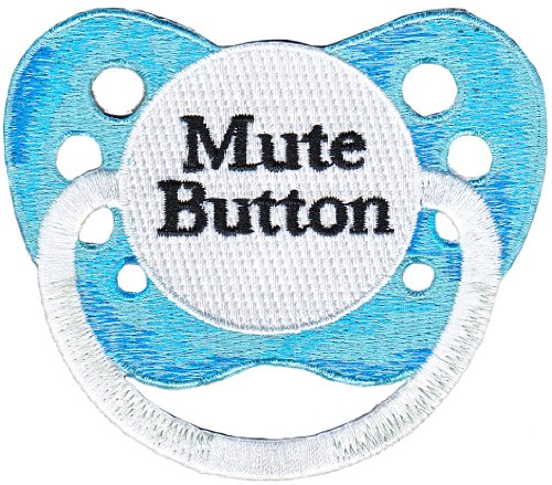 Application Babies Pacifier Mute Button Patch
