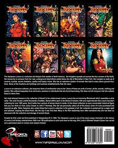 Kirk Lindo's Vampress Luxura V6: The Crimson Goddess: Volume 6