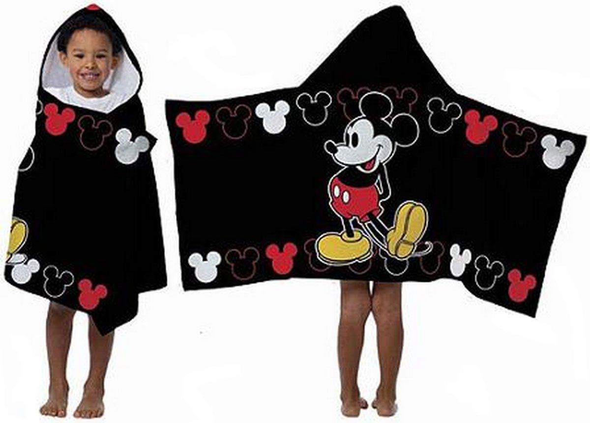 Kids' Disney Hooded Towel for Pool, Beach, or Bath Time