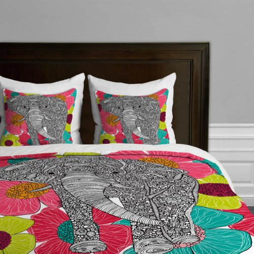 Deny Designs Valentina Ramos Groveland Duvet Cover, Queen back-655606