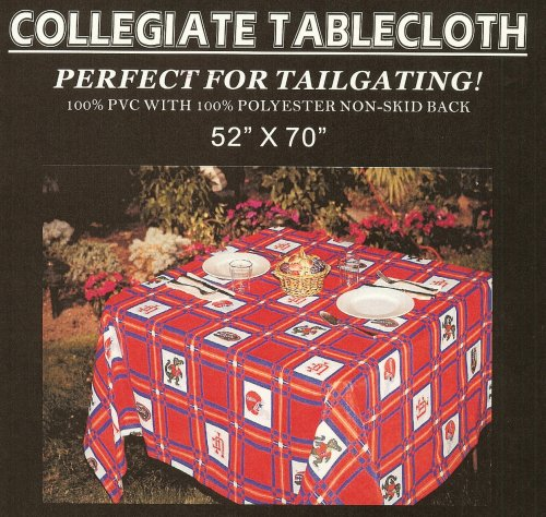 University of Florida GATORS college tablecloth-great for tailgaiting at Amazon.com