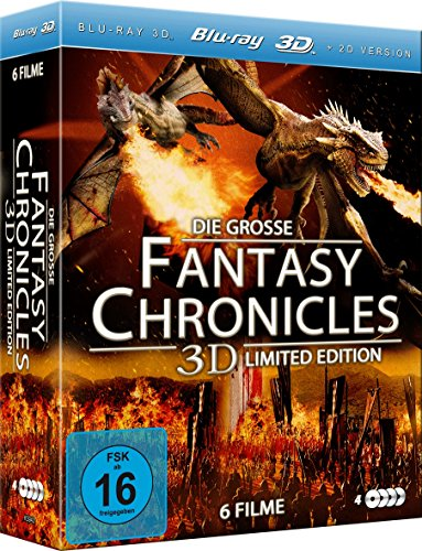 Die große Fantasy Chronicles 3D Limited Edition (6 Filme im 4 Disc Set) [3D Blu-ray]