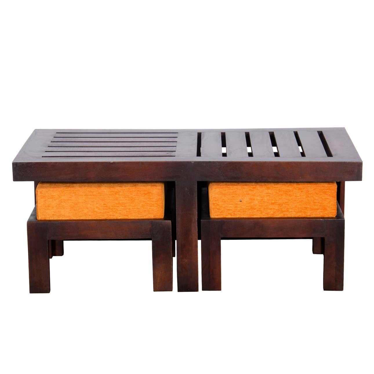 Upto 70% off on Solid Wood Furniture By Amazon | Altavista Perk Solid Wood Coffee Table (Brown) @ Rs.5,999