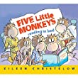 HOUGHTON MIFFLIN FIVE LITTLE MONKEYS READING IN BED (Set of 6)